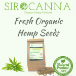 Fresh Organic Hemp Seeds (200 gr.)