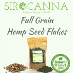 Full Grain Hemp Seed Flakes (250 gr.)